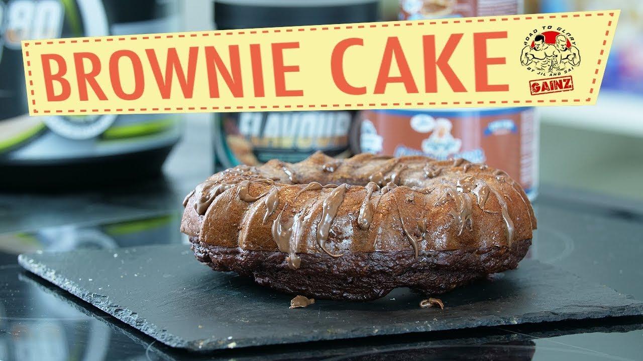 Fitness Rezept Protein Brownie Kuchen Ohne Mehl Youtube