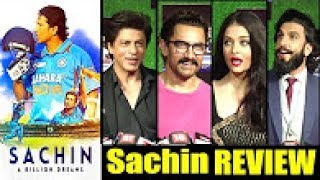 Shah Rukh Khan, Aamir Khan and Ranveer Singh's Reaction on Sachin: A Billion Dreams