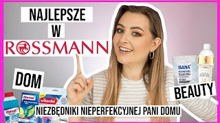 MUST HAVE z ROSSMANNA - Produkty do Domu, Beauty | lamakeupebella