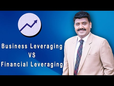 BUSINESS LEVERAGING VS FINANCIAL LEVERAGING