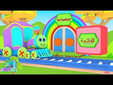Learn Surah Al-Fatiha | Quran for Kids | Search and Find Cartoon | Abata