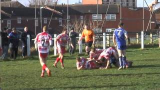 East Leeds 12, Sharlston Rovers 30 - Barla National Cup Round 2