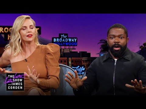 Charlize Theron Peed Herself In Front of David Oyelowo
