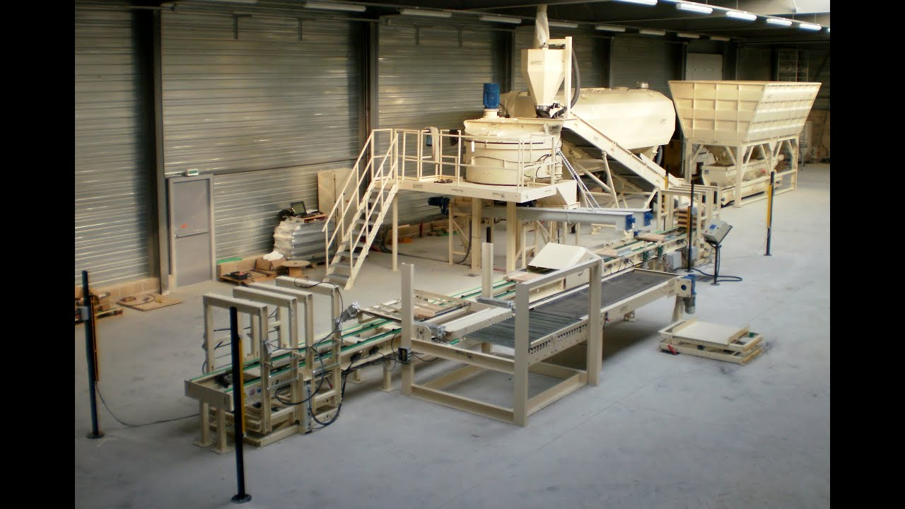 Unique machine for the production of decorative stones