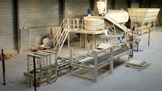 Unique machine for the production of decorative stones Piedraviva