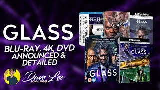 GLASS - Blu-ray, 4K, DVD Announced & Detailed