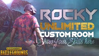 CUSTOM ROOMS Ft. CHOR GANG || 100UC Giveaway || RP Giveaway || PUBG MOBILE LIVE STREAM