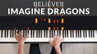 Download lagu Imagine Dragons - Believer | Tutorial of my Piano Cover + Sheet Music