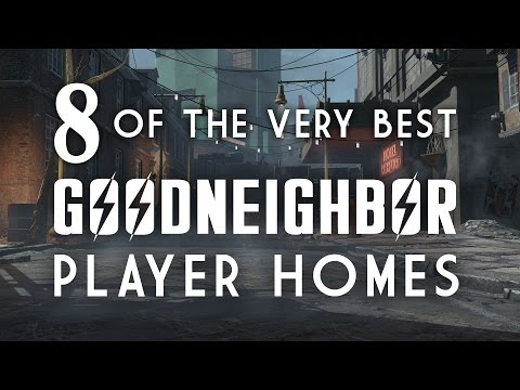 8 of the Best Goodneighbor Player Homes - Oxhorn's Mod Muster - Fallout 4 Mods