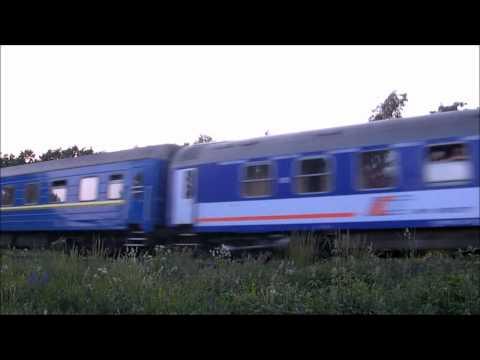 Kiev Express D68 Warszawa Zachodnia - Kiev Pass na przejeździe w Rejowcu (27.05.2011)