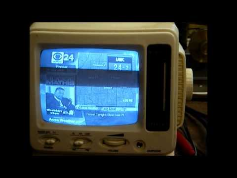 Repair Of A Cheap Spectra Chinese B&W TV 1999