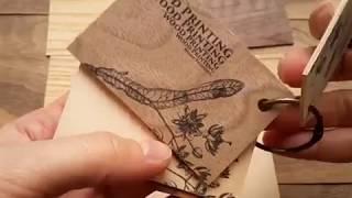 Wooden business cards / Деревянные визитки / Породы дерева для визиток