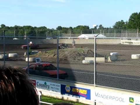 heat race warren county speedway fwd july 11 2009