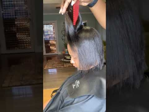 How to fix damaged hair | correcting a relaxer