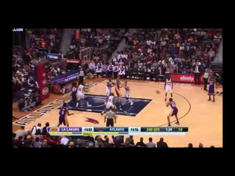 NBA CIRCLE - LA Lakers Vs Atlanta Hawks Highlights 16 Dec. 2013 www.nbacircle.com