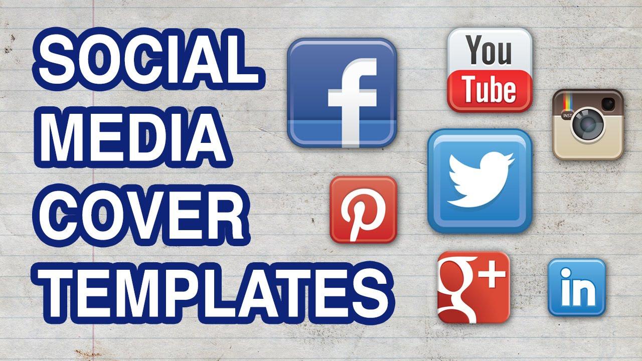 Social Media Cover Templates Kit Facebook Cover Twitter Header