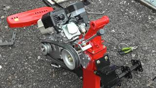 Мотокультиватор Shtenli 900 8 л з . Збірка