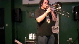 01 A.J. Herring at Laboratory Music #2 free improvisation festival Gainesville