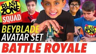 Beyblade Burst Avatar Set Battle Royale! Beyblade Battle, Tournament & Giveaway!