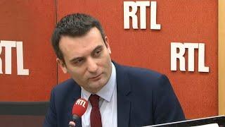 Florian Philippot est l'invité de RTL
