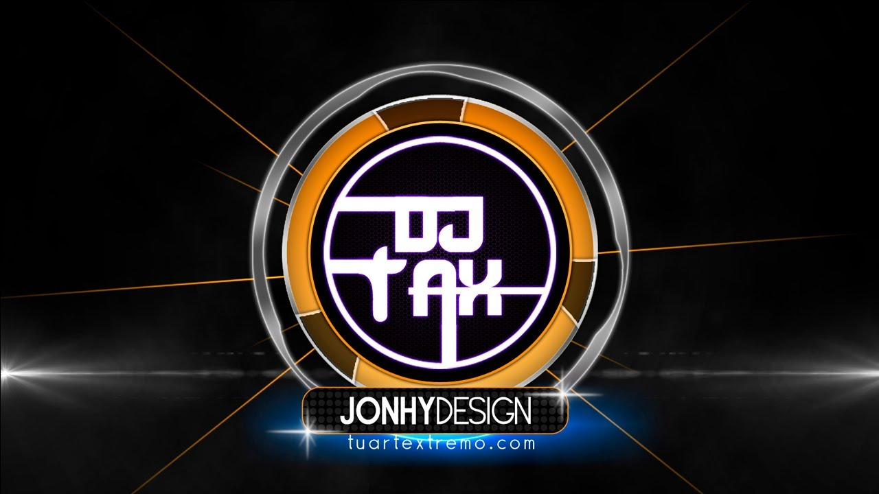 Tutorial Photoshop Logotipo Estilo Dj Youtube
