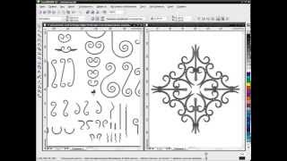 Графический конструктор для ковки на базе Corel Draw. Часть 4.