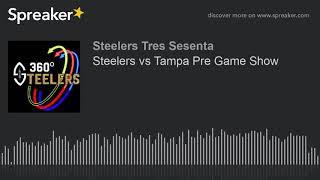 Steelers vs Tampa Pre Game Show (hecho con Spreaker)