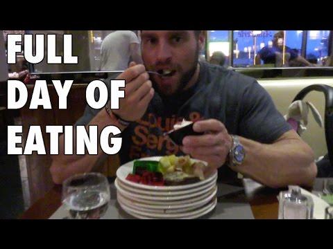 VLOG |Full Day of Eating | Bizepstraining | Photoshoot Body Power Studio Weissenthurm