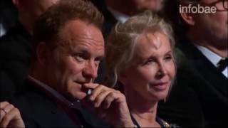 La incomodidad de Sting al escuchar a José Feliciano cantar...