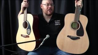 �������� ���� Fender CD-60S vs Yamaha FG800 Comparison ������