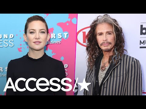 Kate Hudson's Baby Bump Gets Rock Star Love From Steven Tyler  Access