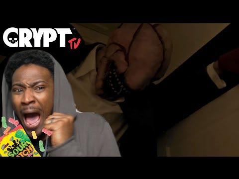 MOVIE NIGHT #2 | CRYPT TV Scary Short Horror FIlm Reaction | LooK-SeE ep 2