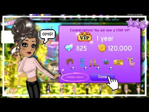 1 YEAR STAR VIP!!! ♡ Noob To VIP Transformation! // Alyssa MSP
