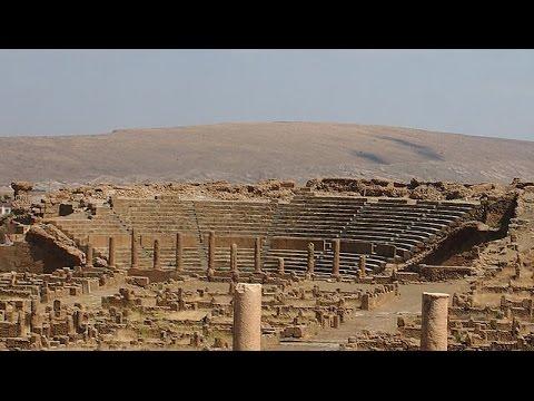 Roman ruins timgad / Tourist destination Algeria - History and Origin