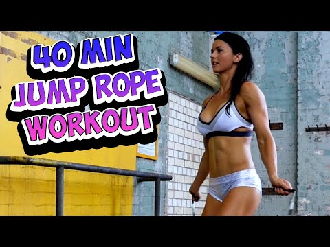 40 Minute Jump Rope Workout At Home