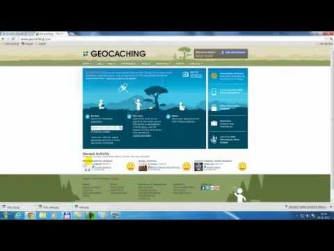 GeoCaching SK manual 01 -Registrácia