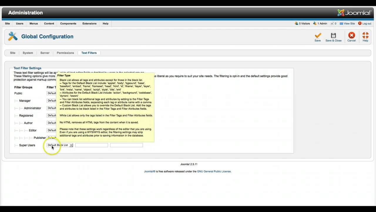 Adding IFrames to Joomla Content for J2.5 and 3.0 - YouTube