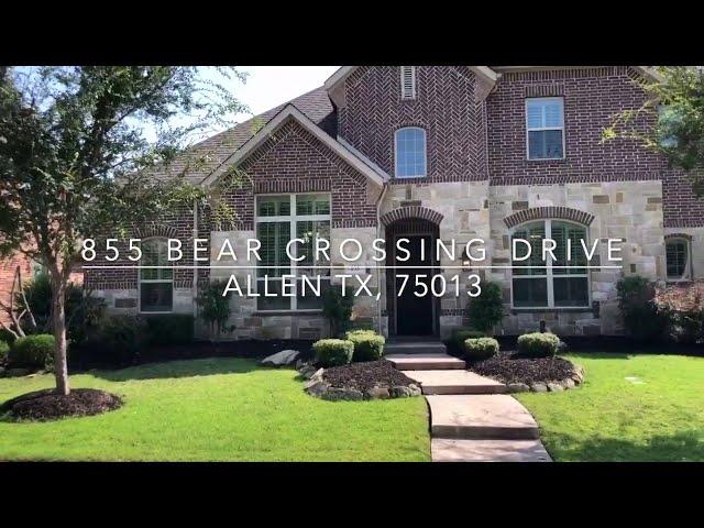 855 Bear Crossing Drive, Allen, TX 75013