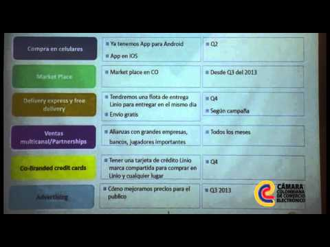 Tour Colombia Emprende: Tendencias y Evolución de las Compras en Línea en Colombia. Linio Colombia