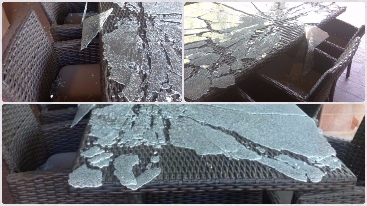 Glass Table Tops Can Suddenly Explode For No Specific Reason Youtube