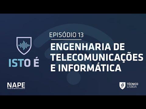 Podcast ISTO É | Episódio 13 - ENGENHARIA DE TELECOMUNICAÇÕES E INFORMÁTICA
