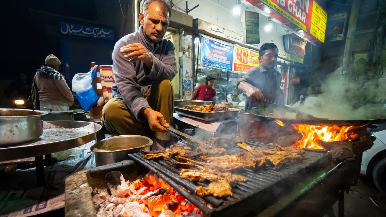 Pakistani Street Food in Multan!! BBQ CHOPS Twice-Cooked + Multani Sweets in UNKNOWN Pakistan!