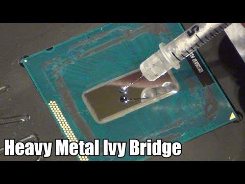 Intel Core i5-3570K - Heatspreader entfernen und Liquid Metal auftragen!