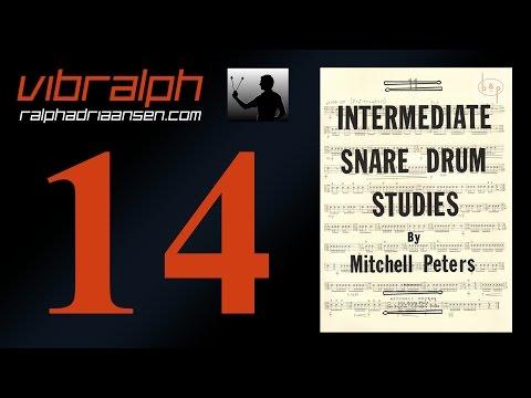 Vibralph - Intermediate snare drum studies Study #10