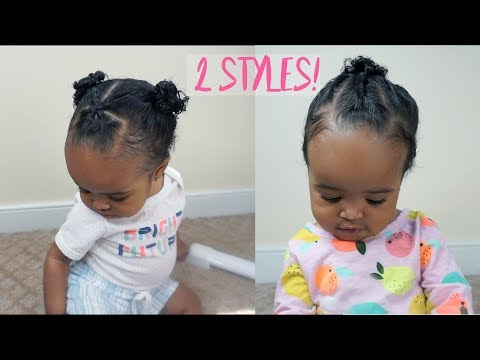 How to do baby black girl hair