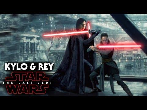 Star Wars The Last Jedi Trailer - Kylo Ren & Rey Abandon Their Masters
