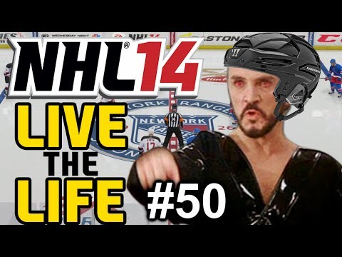 "NHL 14: Live the Life ep. 50 ""Suspension for Kryptonian Hit?"""