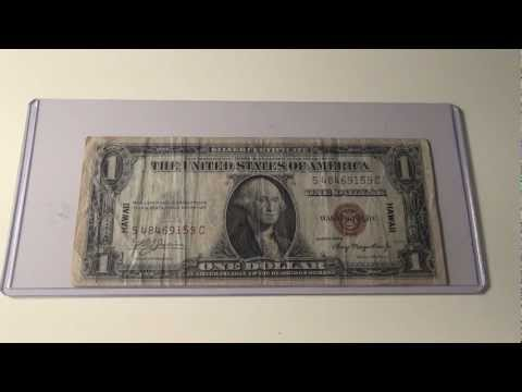 1935A Silver Certificate Brown Seal Note for Hawaii
