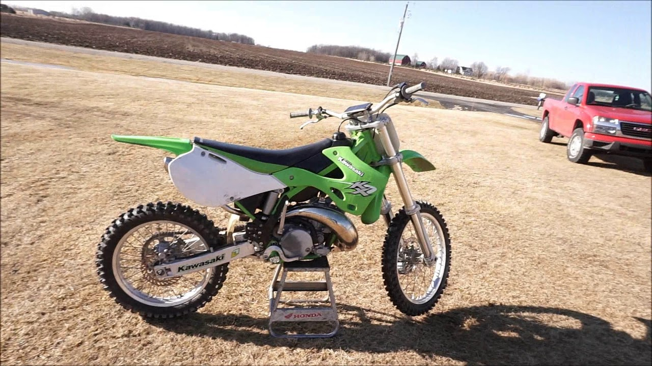 Kawasaki Kx 250 Top Speed Test!!! (money involved)