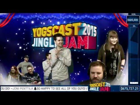 YOGCAST Jingle Jam 2015 - Karaoke Part 1 - 18/12/2015
